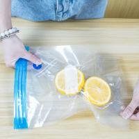 Transparent vacuum bag food packaging bag sealed compression bag ziplock bag